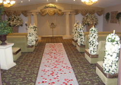 Rose Aisle Runner