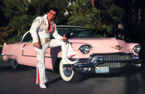Elvis Pink Cadillac Weddings